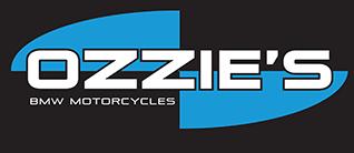 Blue and Grey Ozzie's Dealer Logo